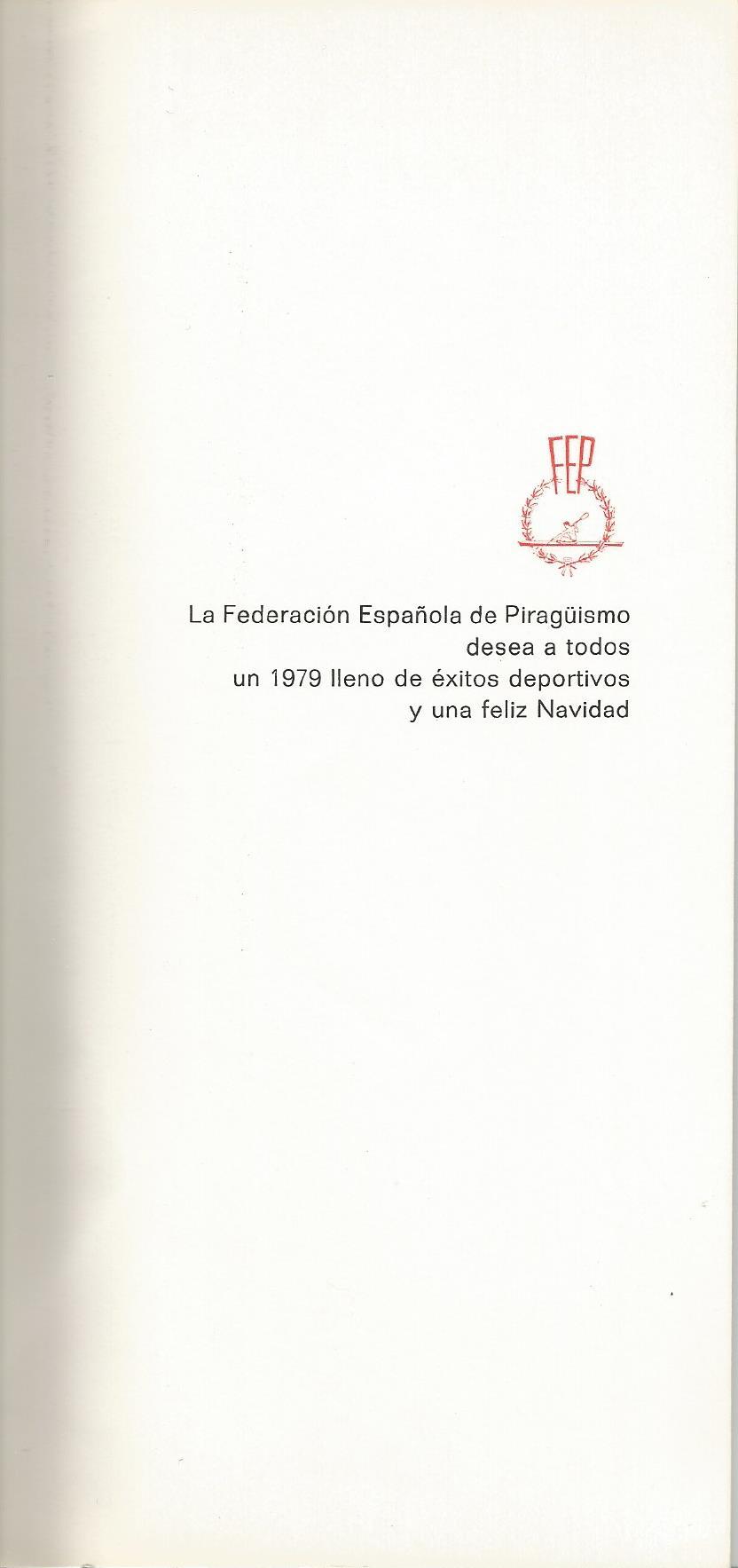 CHRISTMAS RFEP 1979 REVERSO