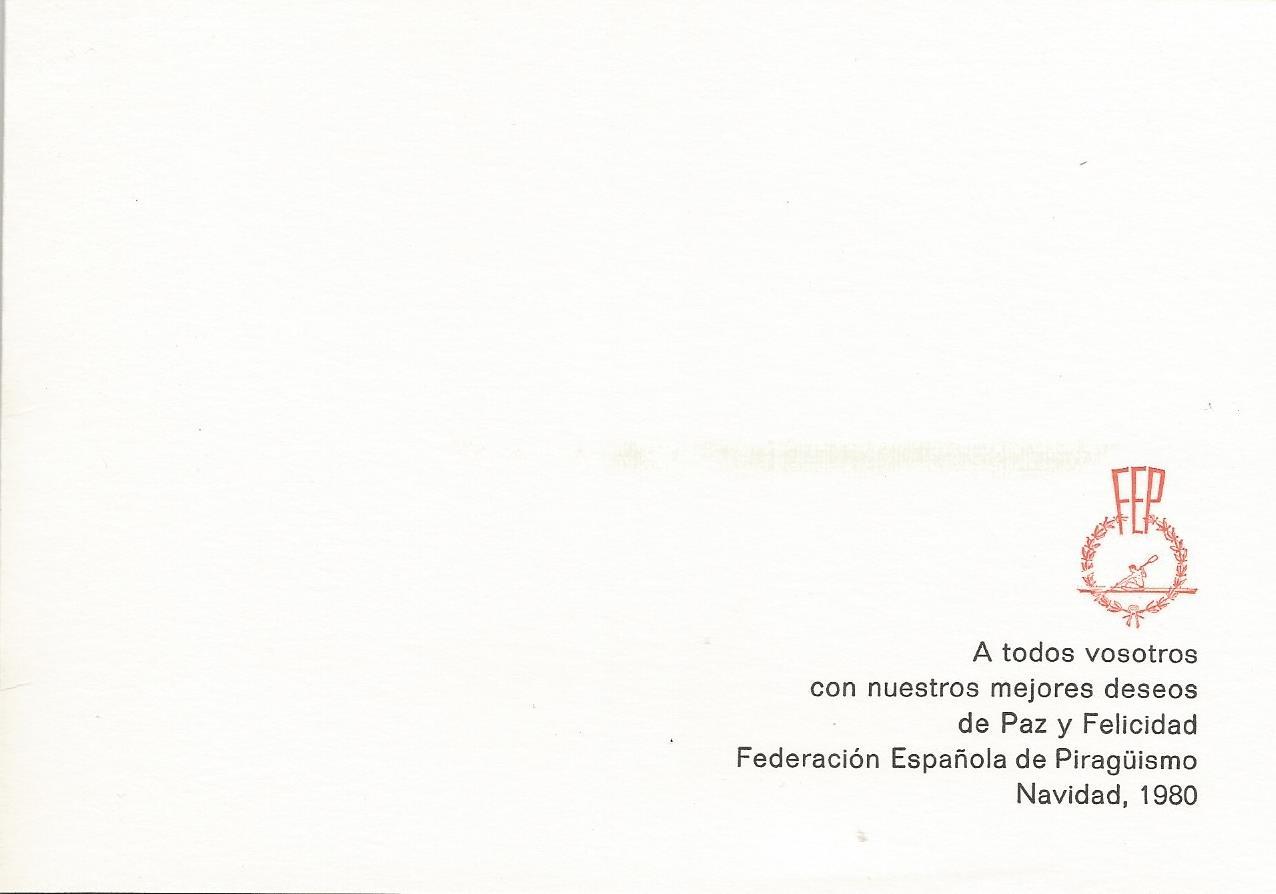 CHRISTMAS RFEP 1980 REVERSO