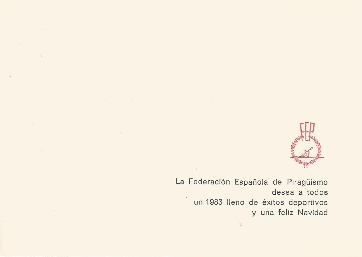 CHRISTMAS RFEP 1982 REVERSO