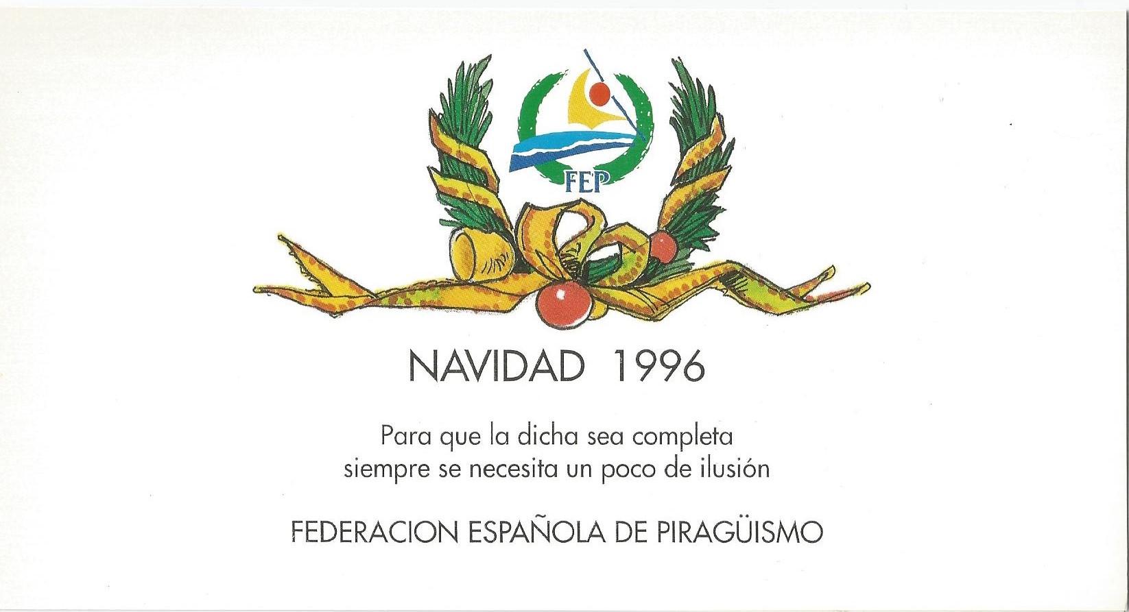 CHRISTMAS RFEP 1996 REVERSO