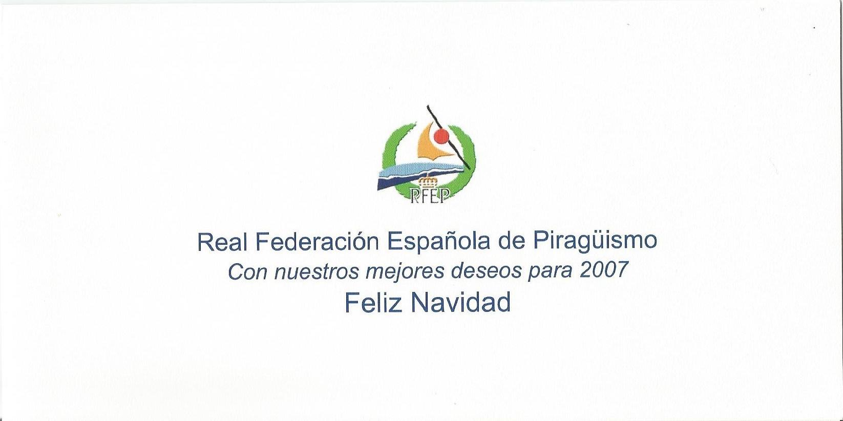 CHRISTMAS RFEP 2006 REVERSO