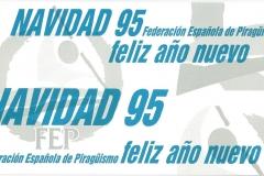 CHRISTMAS RFEP 1995 REVERSO