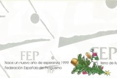 CHRISTMAS RFEP 1998 REVERSO