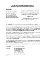 ACTA CONSTITUCIÓN DE LA COMISIÓN GESTORA DE LA RFEP 5 SEP 2016