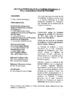 ACTA CONSULTA ONLINE A COMISIÓN DELEGADA DE 19 DE ENERO 2017