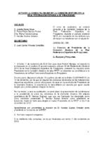ACTA CONSULTA ONLINE COMISIÓN GESTORA DE LA RFEP 11 NOV 2016