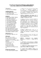 ACTA CONSULTAS E INFORMACIONES ONLINE A JUNTA DIRECTIVA DEL MES DE MAYO 2018