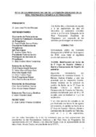 ACTA CONSULTAS ONLINE A COMISIÓN DELEGADA 10 Y 17 DE AGOSTO Y 3 DE SEPTIEMBRE 2018