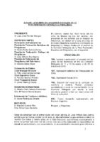 ACTA DE COMISIÓN DELEGADA DE 8 DE FEBRERO DE 2014