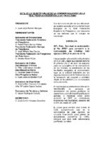 ACTA DE CONSULTA ONLINE A LA COMISIÓN DELEGADA DEL 2 DE JULIO 2015