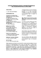 ACTA DE CONSULTA ONLINE A LA COMISIÓN DELEGADA DEL 3 DE JULIO DE 2015