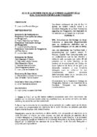ACTA DE CONSULTA ONLINE DE COMISIÓN DELEGADA DE 29 DE JULIO 2015