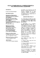 ACTA DE CONSULTA ONLINE DE COMISIÓN DELEGADA DE LA RFEP 1 ABRIL 2016