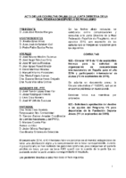 ACTA DE CONSULTAS ONLINE A JUNTA DIRECTIVA DE SEPTIEMBRE DE 2015