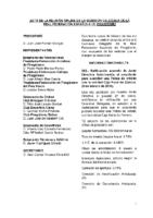 ACTA DE CONSULTAS ONLINE A LA COMISIÓN DELEGADA DE 09:02:2016