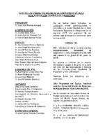 ACTA DE CONSULTAS ONLINE A LA JD DE LA RFEP. JUNIO 2015