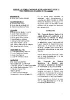 ACTA DE CONSULTAS ONLINE A LA JUNTA DIRECTIVA JUNIO 2016