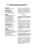 ACTA DE CONSULTAS ONLINE DE LA JD DE LA RFEP DE FEBRERO DE 2016