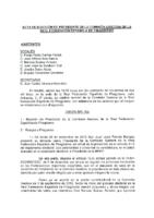 ACTA DE ELECCIÓN DE PRESIDENTE DE LA COMISIÓN GESTORA DE 27:11:2012