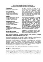 ACTA DE JUNTA DIRECTIVA DE 19 DE OCTUBRE DE 2013
