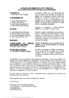 ACTA DE JUNTA DIRECTIVA DEL 12 DE ENERO DE 2013