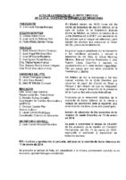 ACTA DE JUNTA DIRECTIVA. REUNIÓN DEL 20 DE DICIEMBRE DE 2014