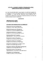 ACTA DE LA ASAMBLEA GENERAL ORDINARIA DE LA RFEP DE 3 DE FEBRERO DE 2019