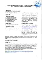 ACTA DE LA COMISIÓN DE AUDITORÍA Y CONTROL ECONÓMICO DE LA REAL FED. ESP. DE PIRAGÜISMO 2018