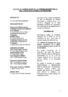 ACTA DE LA CONSULTA Nº 10 Y 11 A COMISIÓN DELEGADA DE 5 Y 13 DICIEMBRE 2017