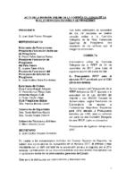 ACTA DE LA CONSULTA Nº 9 A COMISIÓN DELEGADA DE 24 DE NOVIEMBRE 2017