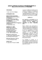ACTA DE LA CONSULTA OLINE DE LA COMISIÓN DELEGADA DEL 22:12:2014