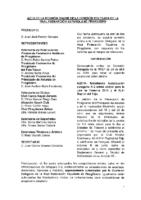 ACTA DE LA CONSULTA ONLINE A COMISIÓN DELEGADA Nº 6 DE 24 DE ABRIL DE 2018