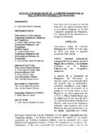 ACTA DE LA CONSULTA ONLINE A COMISIÓN DELEGADA Nº 7 DE 8 DE MAYO DE 2018
