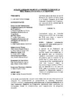 ACTA DE LA CONSULTA ONLINE A COMISIÓN DELEGADA Nº 8 DE 14 DE MAYO DE 2018