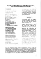 ACTA DE LA CONSULTA ONLINE Nº 13:2018 A COMISIÓN DELEGADA DE 10 DE JULIO 2018