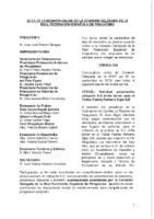 ACTA DE LA CONSULTA ONLINE Nº 17:2018 A COMISIÓN DELEGADA 2018