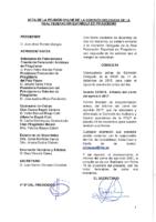 ACTA DE LA CONSULTA ONLINE Nº 23:2018 DE COMISIÓN DELEGADA DE FECHA 17 DE DICIEMBRE 2018