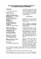 ACTA DE LA CONSULTA ONLINE Nº 4 A COMISIÓN DELEGADA DE 6 DE ABRIL DE 2018