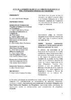 ACTA DE LA CONSULTA ONLINE Nº 9:2018 A LA COMISIÓN DELEGADA DE 5 DE JUNIO 2018