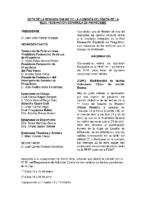 ACTA DE LA CONSULTA ONLINE nº 3 A COMISION DELEGADA DE 1 DE FEBRERO-18