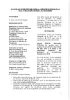 ACTA DE LA INFORMACIÓN A COMISIÓN DELEGADA DE 15 DE NOVIEMBRE 2018