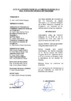 ACTA DE LA INFORMACIÓN A COMISIÓN DELEGADA DE 26 DE NOVIEMBRE 2018
