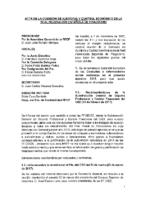 ACTA DE LA REUNIÓN DE LA COMISIÓN DE AUDITORIA Y CONTROL ECONOMICO 1 DICIEMBRE 2017