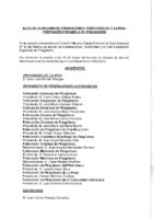 ACTA DE LA REUNIÓN DE PRESIDENTES DEL PASADO 2 DE FEBRERO 2019