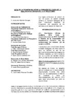ACTA DE LA REUNIÓN ONLINE DE LA COMISIÓN DELEGADA DE LA R.F.E.P 29 OCT 2015