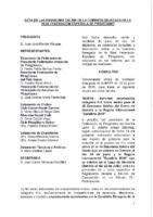 ACTA DE LAS CONSULTAS E INFORMACIONES ONLINE A COMISIÓN DELEGADA DE 18, 20 Y 22 DE JUNIO 2018