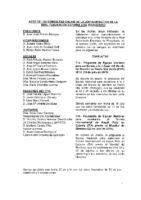 ACTA DE LAS CONSULTAS ONLINE A JUNTA DIRECTIVA DEL MES DE AGOSTO 2016