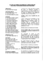 ACTA DE LAS CONSULTAS ONLINE A JUNTA DIRECTIVA DEL MES DE NOVIEMBRE 2018