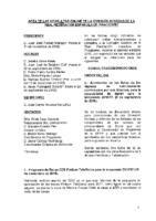 ACTA DE LAS CONSULTAS ONLINE DE LA COMISIÓN GESTORA DE LA RFEP Sep Nov 2016