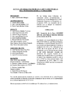 ACTA DE LAS CONSULTAS ONLINE DE LA JUNTA DIRECTIVA DE LA RFEP 2015
